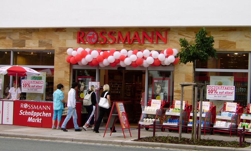 Rossmann Neueröffnung